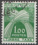 France Taxe 1960 N° 94 Gerbe  (E9) - 1960-.... Oblitérés