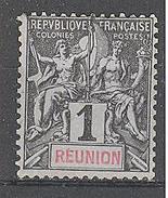 Réunion: Yvert N°32(*) - Réunion (1852-1975)