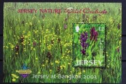 GB Jersey, MiNr. Block 38 I, Postfrisch / MNH