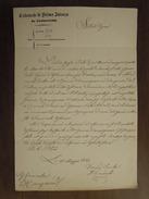 Civitavecchia  Tribunale Di Prima Istanza  10 Maggio 1862  All' ILLmo Signor Governatore Di Manziana - Civitavecchia
