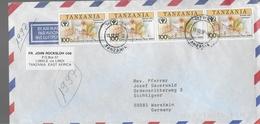TANZANIE  Lettre Litterature