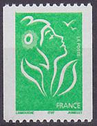 Timbre Neuf ** N° 3742(Yvert) France 2005 - Marianne De Lamouche ITVF Roulette, N° Noir Au Verso - 2004-08 Maríanne De Lamouche