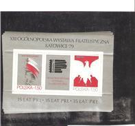 POLOGNE  BLOC N° 87    NEUF ** MNH   DE  1979   PRIX     1€