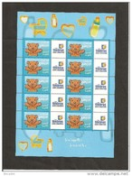 MINIFEUILLE     F 3431    LOGO  TIMBRES PERSONNALISES
