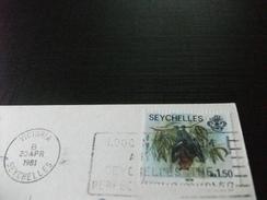 STORIA POSTALE FRANCOBOLLO COMMEMORATIVO  SEYCHELLES HARBOUR ISLANDS VICTORIA - Seychelles