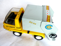 PLAYMOBIL PLAYMOBIL CAMION POUBELLE 3780 1978 - Playmobil