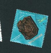 N° 558 Tantalocolumbite Timbre Mozambique (1971) Oblitéré