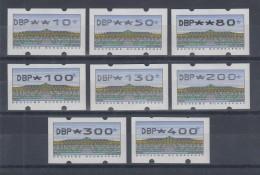 Deutschland ATM Sanssouci Typ N24 Tastensatz TS1 8 Werte 10-400 **