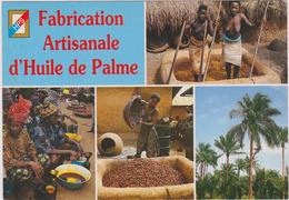 AFRIQUE DE L´OUEST,AFRICA ,TOGO, Prés BENIN,DAHOMEY,METIER,PAYSAN,FEMME NUE,PILEUSE,HUILE DE PALME - Togo