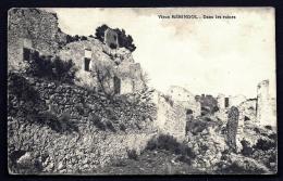CPA ANCIENNE- FRANCE- MÉRINDOL (84)-  DANS LES RUINES DU VILLAGE- TRES GROS PLAN - Frankreich