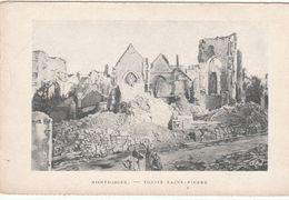 Cp , 80 , MONTDIDIER , Église Saint-Pierre - Montdidier