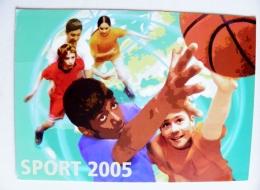 Stationery Card Sent From Switzerland 2005 Sport Basketball