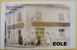93 - Carte Photo - VILLEPINTE - Devanture - Cafe - Restaurant - Vins - DELABRUYERE - Lire Descriptif - Villepinte