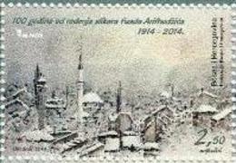 BH 2014 FAUD ARIFHODŽIĆ,  BOSNA AND HERZEGOVINA, 1 X 1v, MNH - Bosnien-Herzegowina