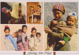 ,ASIE,ASIA,NEPAL,HIMALAYA,NAMASTE,ENFANT LUDAKH,CHILDREN - Népal