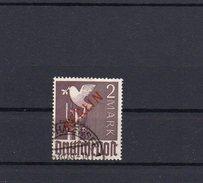 Berlin Rotaufdruck  2 Mark (Höchstwert) Gestempelt Geprüft  (  N 6929  )   Katalogwert  275  €