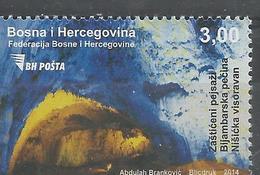 BH 2014 BIJAMBARSKA CAVE, BOSNA AND HERZEGOVINA, 1 X 1v, MNH - Archäologie