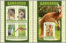 2016 Solomon Islands, Kangaroo, S/sheet+sheet, MNH