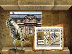 GUINEA 2007 SHEET LOUVRE MUSEUM MUSEE ART PAINTINGS SCULPTURES MONUMENTS Gu0754b