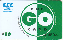 SAINT MARTIN - ECC Prepaid Card $10, Used - Antilles (Netherlands)