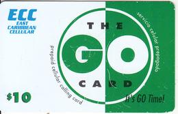 SAINT MARTIN - ECC Prepaid Card $10, Used