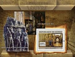 GUINEA 2007 SHEET LOUVRE MUSEUM MUSEE ART PAINTINGS SCULPTURES MONUMENTS Gu0754c