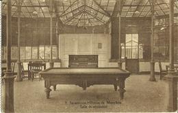 Marchin -- Sanatorium Militaire - Salle De Récréation.    (2 Scans) - Marchin