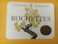 4268 - Rochettes Chasselas Romand  Suisse 2 étiquettes - Etiquettes