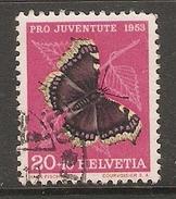 004454 Switzerland Pro Juventute 1953 20c FU - Pro Juventute