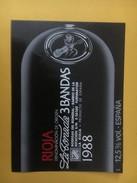 4272 - Rioja La Tornada 3 Bandas 1988 Espagne Guitare - Musique