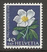 004457 Switzerland Pro Juventute 1958 40c MNH - Pro Juventute
