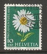 004464 Switzerland Pro Juventute 1963 10c FU - Pro Juventute
