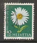 004465 Switzerland Pro Juventute 1963 10c FU - Pro Juventute