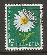 004466 Switzerland Pro Juventute 1963 10c FU - Pro Juventute