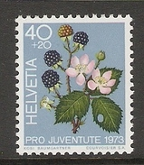 004471 Switzerland Pro Juventute 1973 40c MNH - Pro Juventute