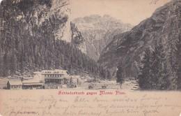 Schluderbach Gegen Monte Pian - Toblach * 24. 4. 1901 - Italie