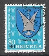 004482 Switzerland Pro Juventute 1981 80c FU - Pro Juventute