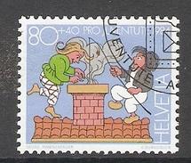 004483 Switzerland Pro Juventute 1984 80c FU - Pro Juventute