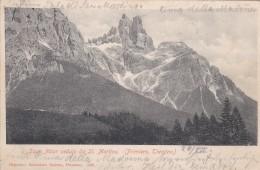 Sass Maor Veduta Da St. Martino (Primiero, Trentino) * 27. 7. 1903 - Autres Villes