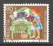 004485 Switzerland Pro Juventute 1985 80c FU - Pro Juventute