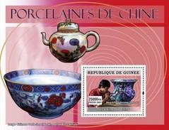 GUINEA 2007 SHEET ART CHINESE PORCELAIN FROM CHINA PORCELAINES DE CHINE Gu0760c