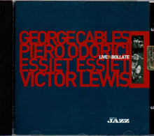 # CD: George Cables Live In Bollate - Cd Fuori Commercio - Jazz