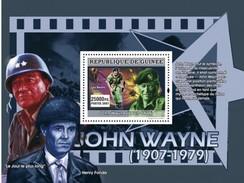 GUINEA 2007 SHEET JOHN WAYNE ACTOR ACTORS CINEMA Gu0761b