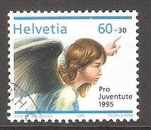 004497 Switzerland Pro Juventute 1995 60c FU - Pro Juventute