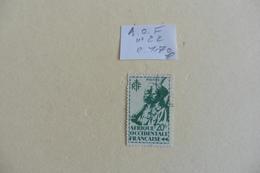 A.O.F :timbre N° 22 Oblitéré