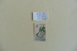 A.O.F :timbre N° 20 Oblitéré