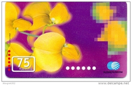 USED PHONE CARDS  KAZAKHSTAN  75ED - Kazakhstan