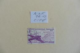 A.O.F :  Poste Aérienne :timbre N° PA  12  Oblitéré