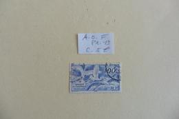 A.O.F :  Poste Aérienne :timbre N° PA  13  Oblitéré