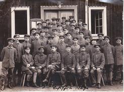 Foto Gruppe Deutsche Soldaten - 11*15cm - 1. WK (29016) - Krieg, Militär